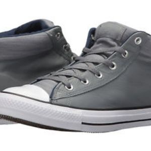 Converse Allstar Mid - Leather! Size 11 - High Low